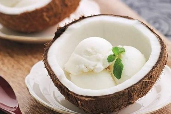 Мороженное из кокосового молока